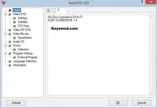 AnyDVD HD Key