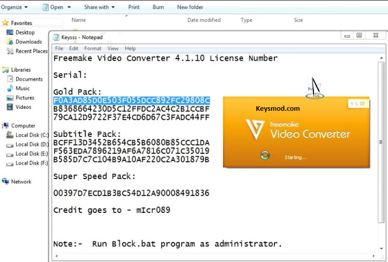 Freemake Video Downloader Key