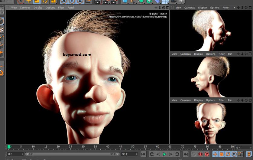 CINEMA 4D Studio Key
